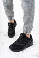 Riccon Siyah Unisex Sneaker 0012863