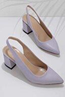 Bambi Lila Kadın Abiye Ayakkabı K01674090309