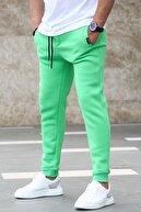 Madmext Erkek Yeşil Basic Eşofman 4210