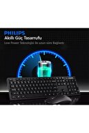 Philips Spt6315 Kablosuz Klavye-mouse Set Sessiz Usb 2.4ghz