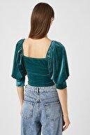 Koton Kadın Yeşil T-Shirt 1KAK13445EK