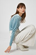 Koton Kadın A.Mavi T-Shirt 1KAK13440EK