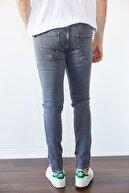 XHAN Gri Slim Fit Jean Pantolon 1kxe5-44254-03