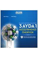 Oral-B Pro 2500 Şarj Edilebilir Diş Fırçası Cross Action Flora Blue Seyahat Kabı