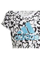 adidas Ge0937-c G Mh Gra Tee Çocuk T-shirt Beyaz
