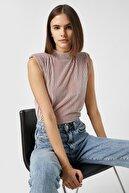 Koton Kadın Pembe T-Shirt 1KAK13461EK