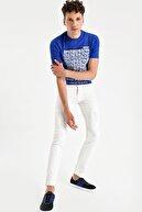 Armani Exchange Erkek Beyaz Jean