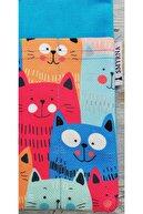 Smyrna Kitap Kılıfı-kediler