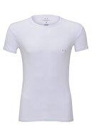 Armani Exchange Erkek Beyaz T-shirt