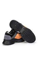 Dark Seer Siyah Turuncu Kadın Sneaker DS.RDM10159