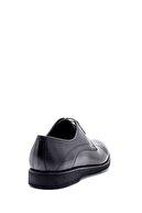 Derimod Erkek Siyah  Deri Klasik Ayakkabı