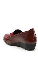 Ayakkabı Modası Kadın Bordo Casual Ayakkabı