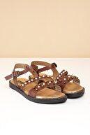 Pierre Cardin PC-2724 Kahve Kadın Sandalet