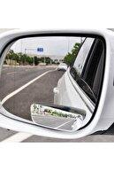 GD 24 Oto Kör Nokta Ayna Gerçek Ayna Ultra Ince Dikdörtgen 90 Mm Oynar 2 Adet Yüksek Kalite Ve Şık Tasarım