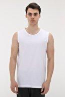 Lotto R8330 Lotto New Conotto Erkek T-Shirt Beyaz