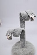 ALMİLA TAKI Opal Gümüş Küpe