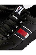 Tommy Hilfiger Kadın Siyah Sneaker