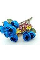 PiCare Çiçek El Buketi Şakayık Kadife Mavi Pk:1 Ar1689m