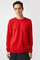 Koton Erkek Kırmızı Sweatshırt 1YAM71740LK
