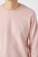 Koton Erkek Pembe Sweatshirt 1YAM71740LK