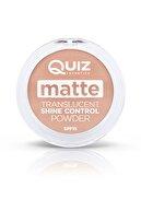 QUIZ Mat Transparan Pudra Matte Translucent Shine Control Powder Spf15 02 Medium