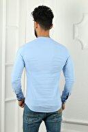 JİYAN Ipli Sıfır Yaka Gömlek