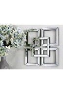 Ermapleksi 3 Lü Ayna Pleksi Dekoratif Set