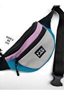 Vatkalimon Unisex Renkli Omuz Ve Bel Çantası