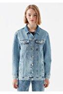 Mavi Kadın Jill Gold Icon   Jean Ceket 110081-30869