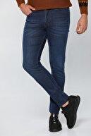 jocuss Erkek Lacivert Slim Fit Likralı  Pantolon