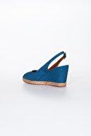 Moda Değirmeni Kadın Dolgu Topuklu Ayakkabı Md1013-120-0001