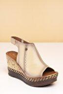 Pierre Cardin PC-2472 Vizon Kadın Sandalet