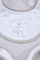 Chakra Lamb Müslin Önlük 3lü Set Beyaz
