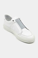 Hotiç Hakiki Deri Beyaz Erkek Spor Ayakkabı