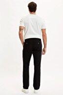 Defacto Relax Fit Beli Bağcıklı Keten Pantolon