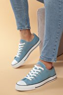 Daxtors Mavi Günlük Ortopedik Erkek Keten Spor Ayakkabı  DXTRMCONT005