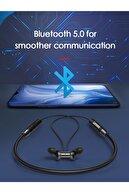 LENOVO HE05 Bluetooth 5.0 Chip Kulaklik Kablosuz Stereo Spor Manyetik Kulaklik Su Geçirmez Kulaklik