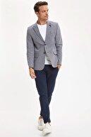 Defacto Erkek Lacivert Modern Fit Blazer Ceket N6033AZ.20SM.NV64