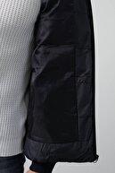 Buratti Slim Fit Kapüşonlu Cepli Şişme Mont Erkek MONT 5761010
