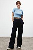 GRIMELANGE LEILA Kadın Siyah Bol Kesim Pantolon