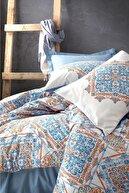 Cotton Box Bohem Nevresim Takımı Çift Kişilik Grande Mavi