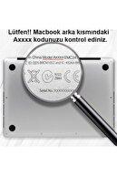 KIZILKAYA Mor Apple Macbook Pro 2020 Model A2338 13 Inç Sert Kapak Koruma Kılıf