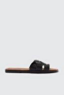 Trendyol Shoes Siyah Kadın Terlik TAKSS21TE0012