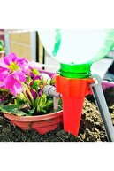 Dolunay 5 Adet  Musluklu Zaman Ayarlı Çiçek Bitki Sulama Aparatı
