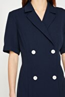 Koton Kadın Lacivert Elbise 9yak83587ew