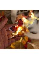 Patladı Gitti Kelebekli Led Işık Dizeleri 20'li 3 Metre Fişli Animasyonlu