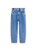 Mango Kadın Mavi Jeans