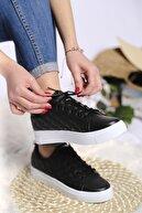 Oksit Liven Kapütone Detaylı Kalın Taban Kadın Sneaker