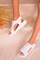 Soho Exclusive Beyaz Kadın Sandalet 16136