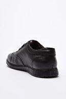 Yaya by Hotiç Hakiki Deri Siyah Erkek Sneaker 02AYY202300A100